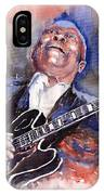 Jazz B B King 05 Red A IPhone Case