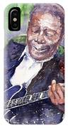 Jazz B B King 06 IPhone X Case