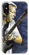 Jazz Eric Clapton 1 IPhone Case