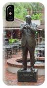 Jazz Greats Al Hirt Fats Domino Pete Fountain Stature New Orleans  IPhone Case