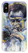 Jazz Miles Davis 12 IPhone Case