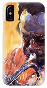 Jazz Miles Davis 8 IPhone Case