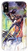 Jazz Miles Davis 9 Blue IPhone Case