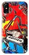 Jazz Piano IPhone Case