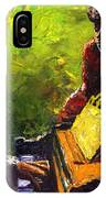 Jazz Ray Duet IPhone Case