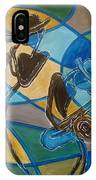 Jazz Raz IPhone Case