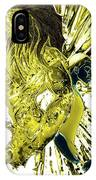 Jd And Leo- Inverted Gold IPhone Case