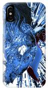 Jd And Leo- Inverted Ice Blue IPhone Case