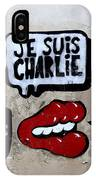 Je Suis Charlie IPhone Case