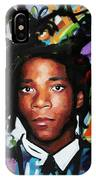Jean, Michel, Basquiat II IPhone Case