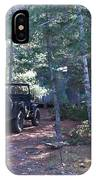 Jeep At Tin Camp IPhone Case