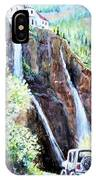 Jeeping At Bridal Falls  IPhone Case