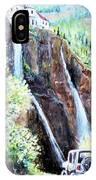 Jeeping At Bridal Falls  IPhone Case