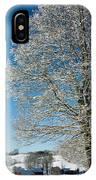 Jenne Farm Winter In Vermont IPhone Case