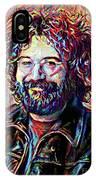 Jerry Garcia Art - The Grateful Dead IPhone Case