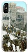 Jerusalem: Bazaar, C1900 IPhone Case