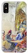 Jerusalem Cafe IPhone Case