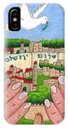 Jerusalem Image IPhone Case