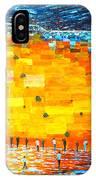 Jerusalem Wailing Wall Original Acrylic Palette Knife Painting IPhone X Case