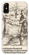 Jesse Sends David To His Brothers And Saul IPhone Case