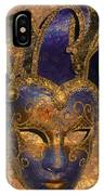 Jester's Mask IPhone Case