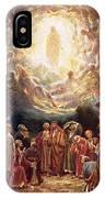 Jesus Ascending Into Heaven IPhone Case
