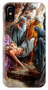 Jesus Burial IPhone Case