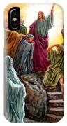 Jesus Raises Lazarus IPhone Case