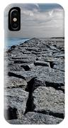 Jetty Over The Coast IPhone Case