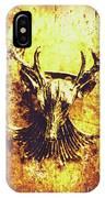 Jewel Deer Head Art IPhone X Case