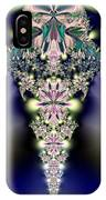 Jeweled Icicle Fractal 136 IPhone Case