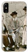 Jews In Jerusalem, C1900 IPhone Case