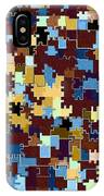 Jigsaw Abstract IPhone Case