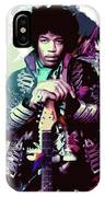 Jimi Hendrix, The Legend IPhone Case
