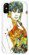 Joan Jett Colorful Paint Splatter IPhone Case