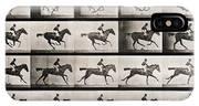 Jockey On A Galloping Horse IPhone X Case