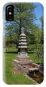 Joe And Marie Schedel Pagoda- Vertical IPhone Case