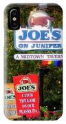 Joe's On Juniper IPhone Case
