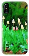 Joe's Tulips IPhone Case
