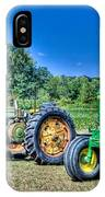 John Deere Lineup IPhone Case