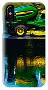 John Deere Mows The Water No 2 IPhone Case