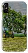 John Deere Tractor At Dusk IPhone Case