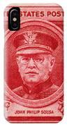 John Philip Sousa Postage Stamp IPhone Case