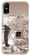 John Wayne's Alamo Mission IPhone Case