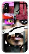 Johnny Depp - Collage  IPhone Case