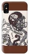 Johnny Manziel 5 IPhone Case