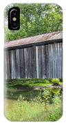Johnson's Mill/salt Creek Covered Bridge  IPhone Case