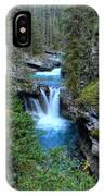 Johnston Canyon Falls Hike Lower Falls IPhone Case
