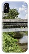 Johnston Covered Bridge IPhone Case