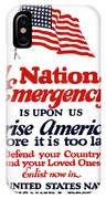 Arise America Before It Is Too Late - Join The Navy IPhone Case